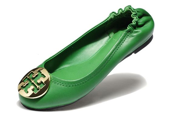 Tory Burch Flats 8606 Green