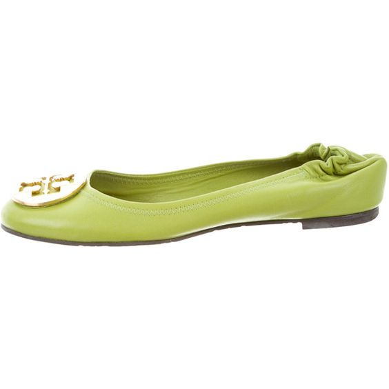 Tory Burch Leather Reva Flats
