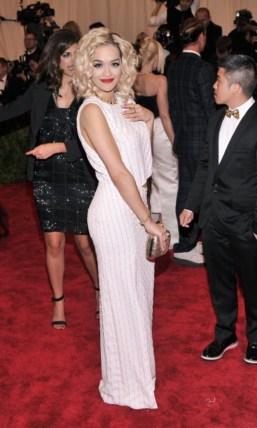 Rita Ora - MET Gala 2013