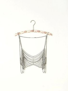 Free People Metal Chain Bra