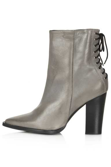 TOPSHOP Pittsburg Lace Back Boots