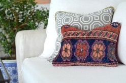 Sweet Peony Kilim Pillow