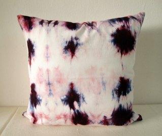Batik Tie Dye Pillow