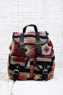 Urban Outfitters Pastel Tribal Backpack