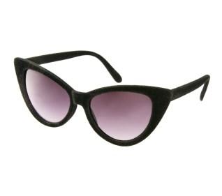 ASOS Velvet Cat Eye Sunglasses