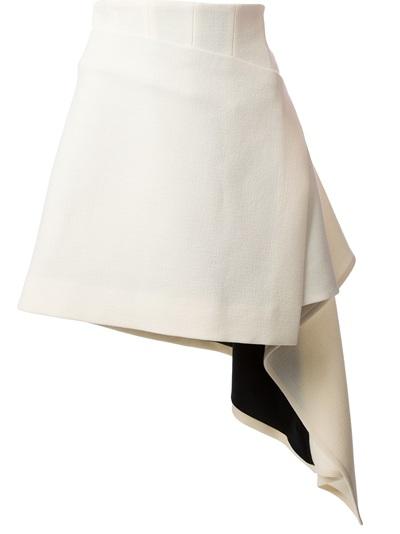 FAUSTO PUGLISI asymmetric ruffled skirt