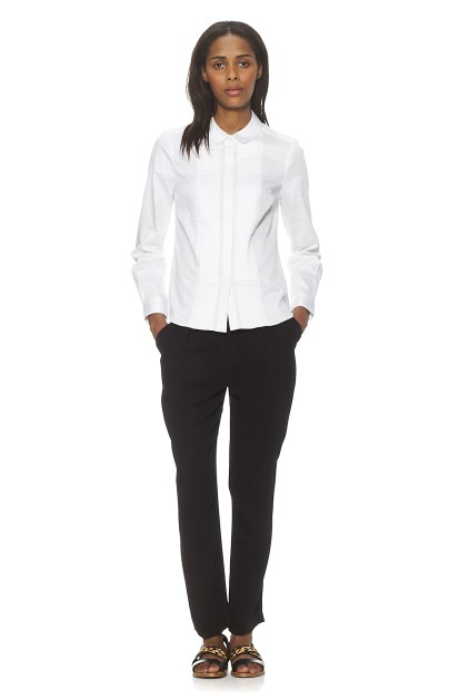 Whistles Claire Cotton Shirt
