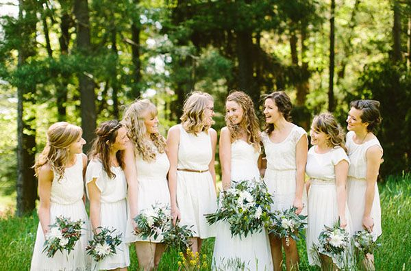 whitebridesmaids