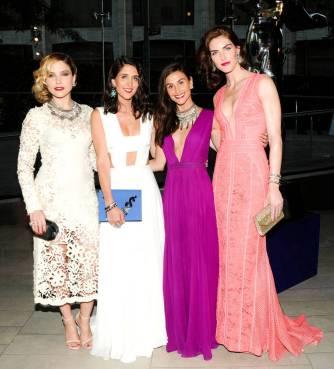 Sophia Bush, Jodie Snyder, Danielle Snyder and Hilary Rhoda
