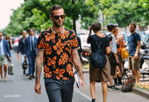 Men's Fashion Week Street Style 11