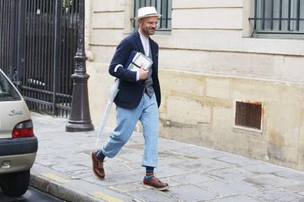 Men's Fashion Week Street Style 24