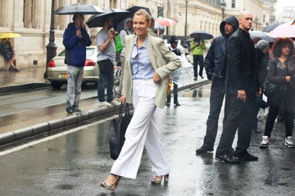 Paris Couture Fashion Week Fall 2014 street style 13