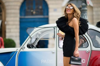 Paris Couture Fashion Week Fall 2014 street style 14