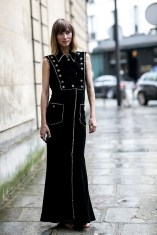 Paris Couture Fashion Week Fall 2014 street style 56