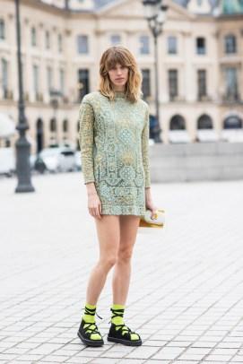 Paris Couture Fashion Week Fall 2014 street style 9