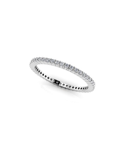 Anjolee Single Row Eternity Ring