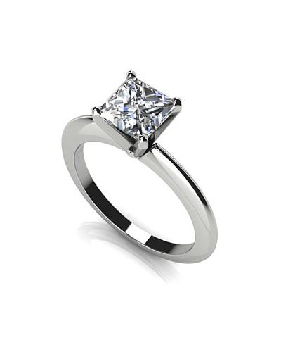 Anjolee Diamond Lined Split Shank Engagement Ring