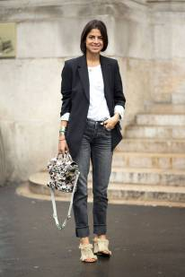 Best of Paris Fashion Week SS15 Street Style 75