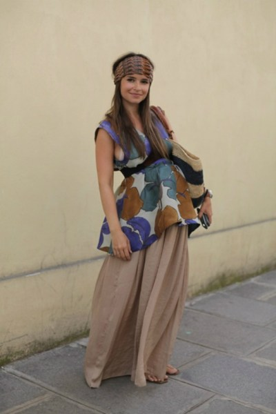 miroslava duma first pregnancy style