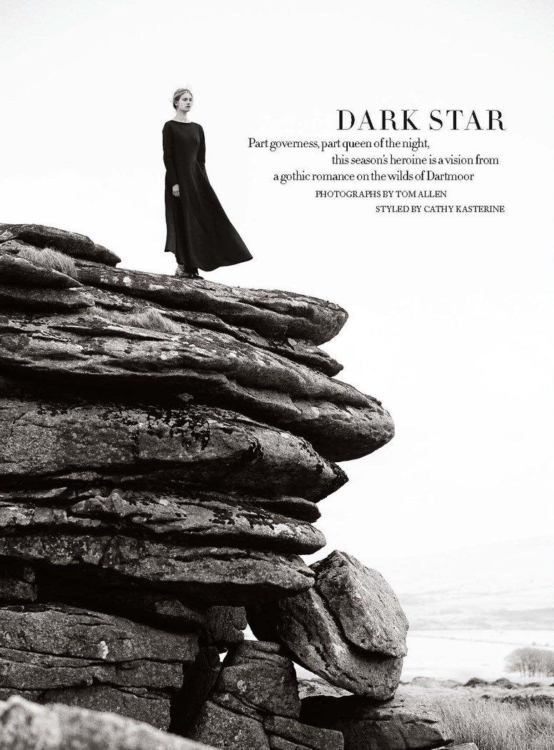 Harper's Bazaar UK September 2013 Dark Star 5