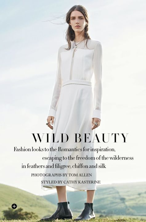 Harper's Bazaar UK September 2014 Wild Beauty 10
