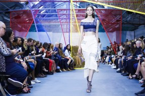 Peter Pilotto Fashion Show, Ready to Wear Collection Spring Summer 2016 in London
