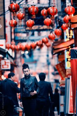 Photograph shot in Japan: Shiho in Chinatown