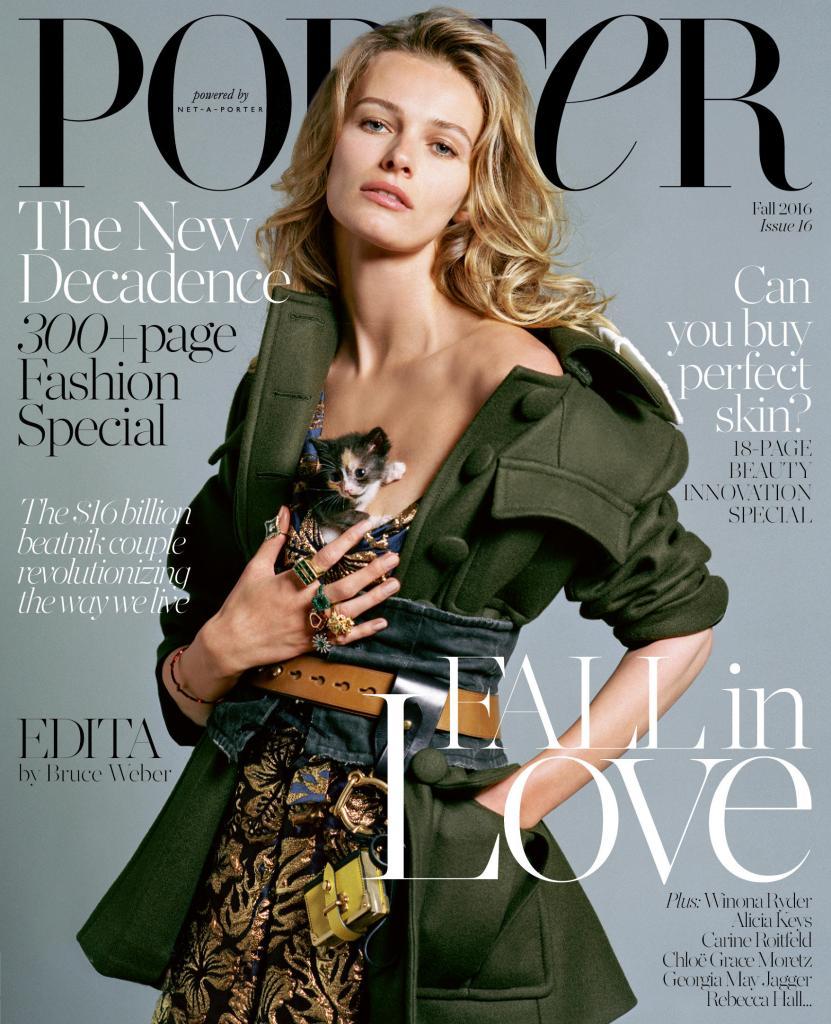 Porter magazine autumn 2016