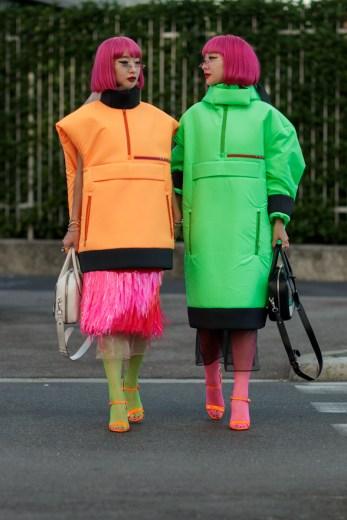 prada-street-style-Neon-and-Nylon-for-Days-at-Prada's-SS19-Show-15