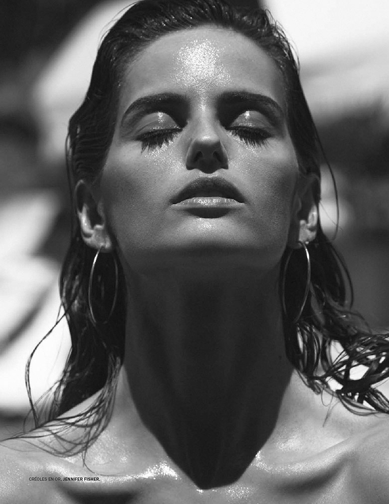 Izabel Goulart by Daniel Jackson for Lui Magazine June 2014