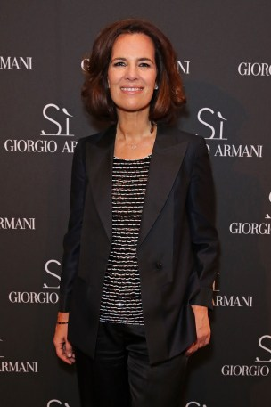 Roberta Armani at Giorgio Armani Parfums Si Gathering Day in London, England.