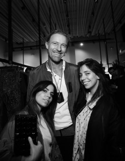 Ally Hilfiger, Franck Chevalier & Elizabeth Hilfiger. Zadig & Voltaire And Flaunt Celebrate The FW16 Collection And The Oh La La Land Issue: Ouest Coast