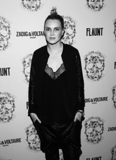 LOS ANGELES, CA - OCTOBER 27: Phoebe Dahl attend the Zadig & Voltaire and Flaunt Celebration of The FW16 Collection and The Oh La La Land Issue: Ouest Coast at Zadig & Voltaire on October 27, 2016 in Los Angeles, California. (Photo by Jesse Grant/Getty Images for Flaunt Magazine)