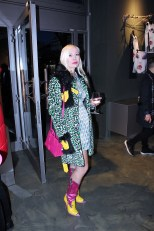 Attendee at the Jeremy Scott So Milano party in Milan ©The Fashion Plate 2017 (photo by Lola Montanaro)