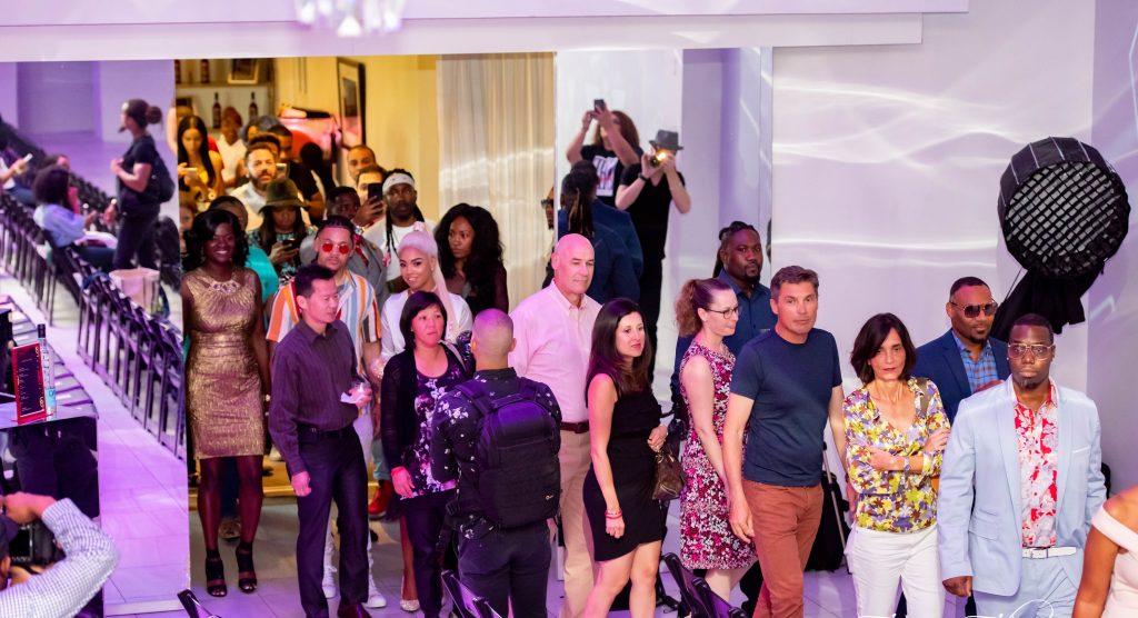 Fashion Showdown guest arrive