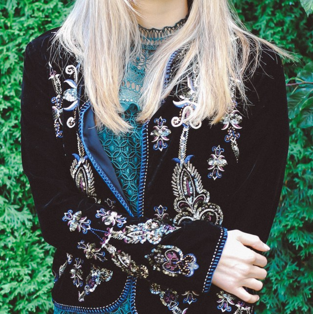 Velvet jacket, Zara velvet jacket, the fashion to follow, Seattle blog, biggest fall trends, velvet trend