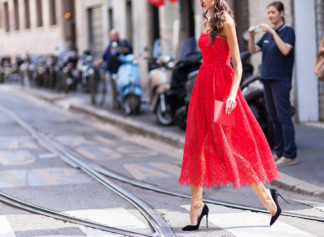 gorgeous red Valentine's Day dresses for every budget