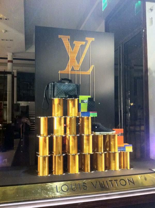 Les Vitrines De Louis Vuitton
