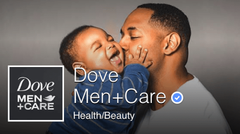 DOVE MEN FACEBOOK