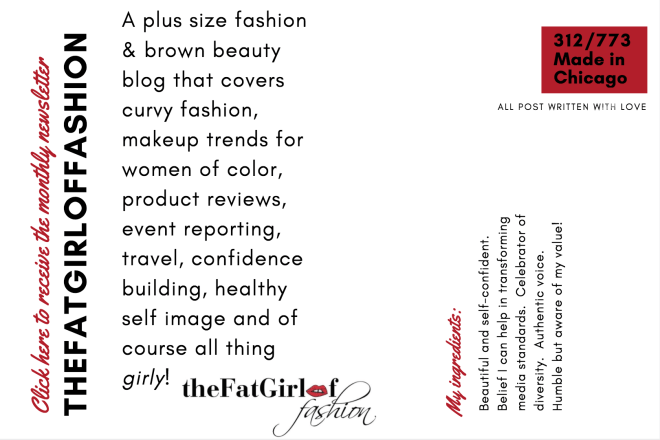thefatgirloffashion newsletter