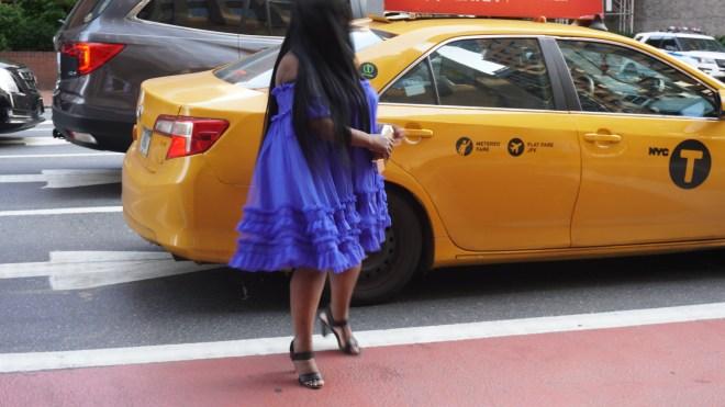 Asos -Blue dress .....