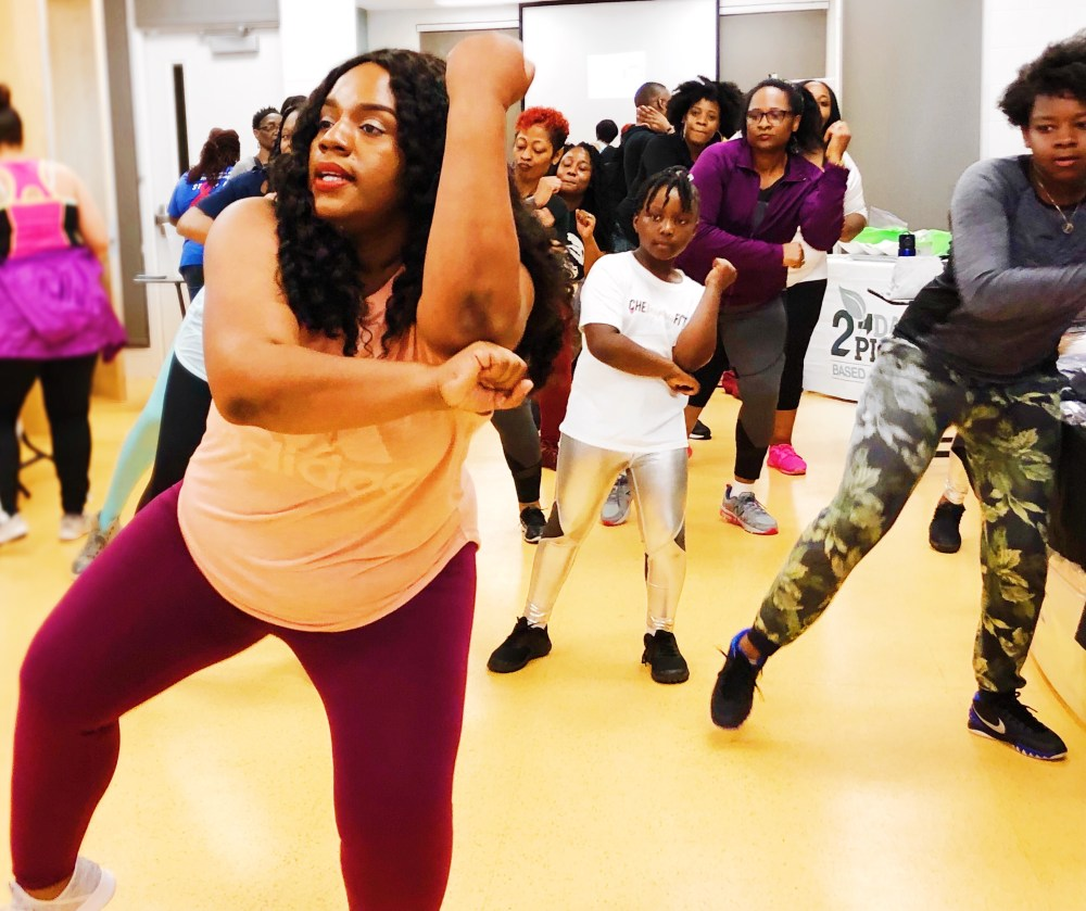 ZUMBA,PLUS SIZE WORK OUT, chasi jernigan, plus size fitness, plus size blogger