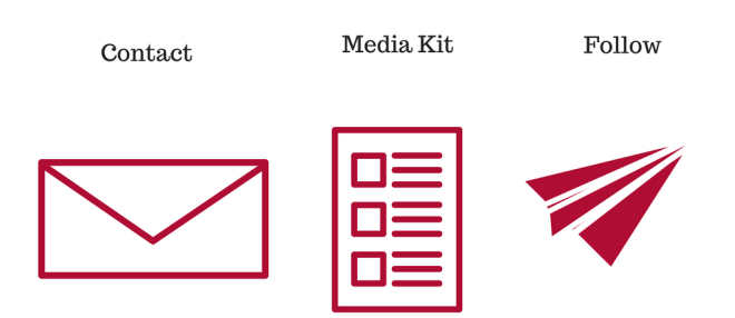 Contact media kit follow