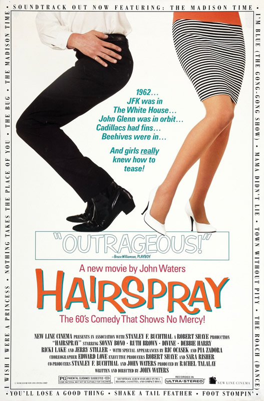 hairspray, Chicago Department of Cultural Affairs and Special Events, DCASE, Millennium Park, Chicago movie in the park, Jay Pritzker Pavilion, Summer Film Series