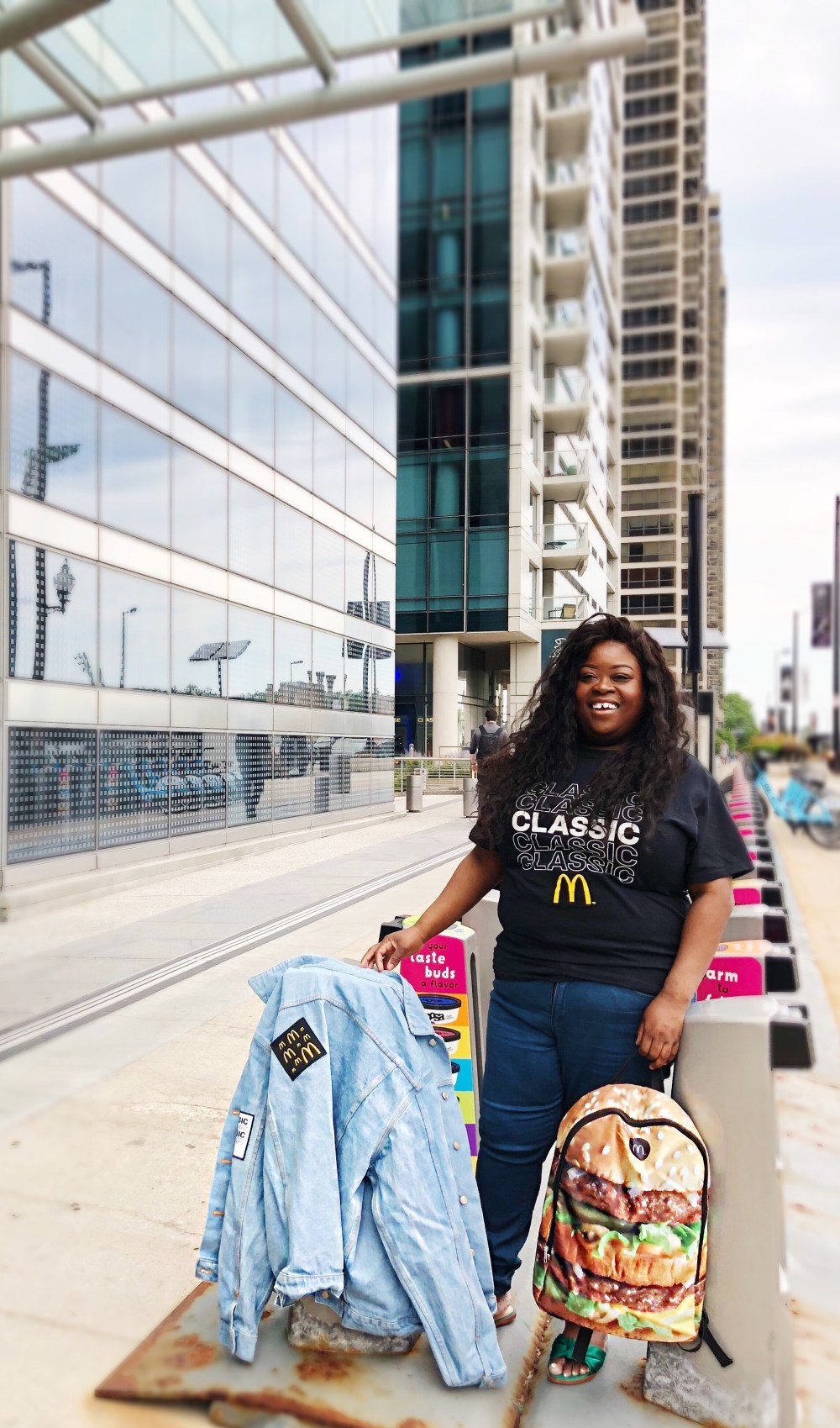 McDonald's, McDelivery, UberEats, Uber, #McDelivery, Chicago Blogger, Chicago lifestyle blogger