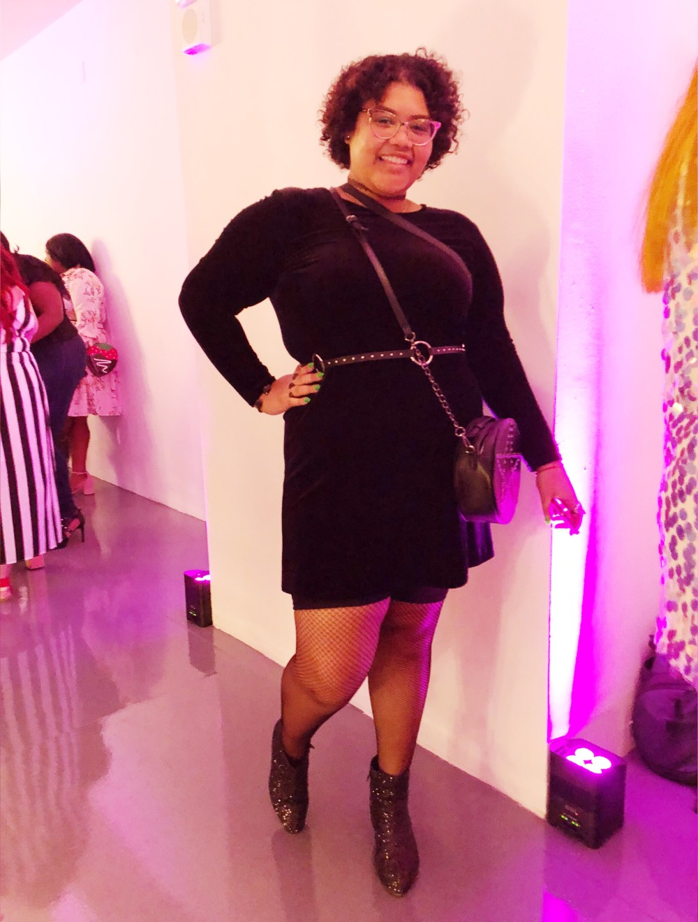 theCURVYcon, Macy's plus size, platinum party, plus size event, plus size fashion