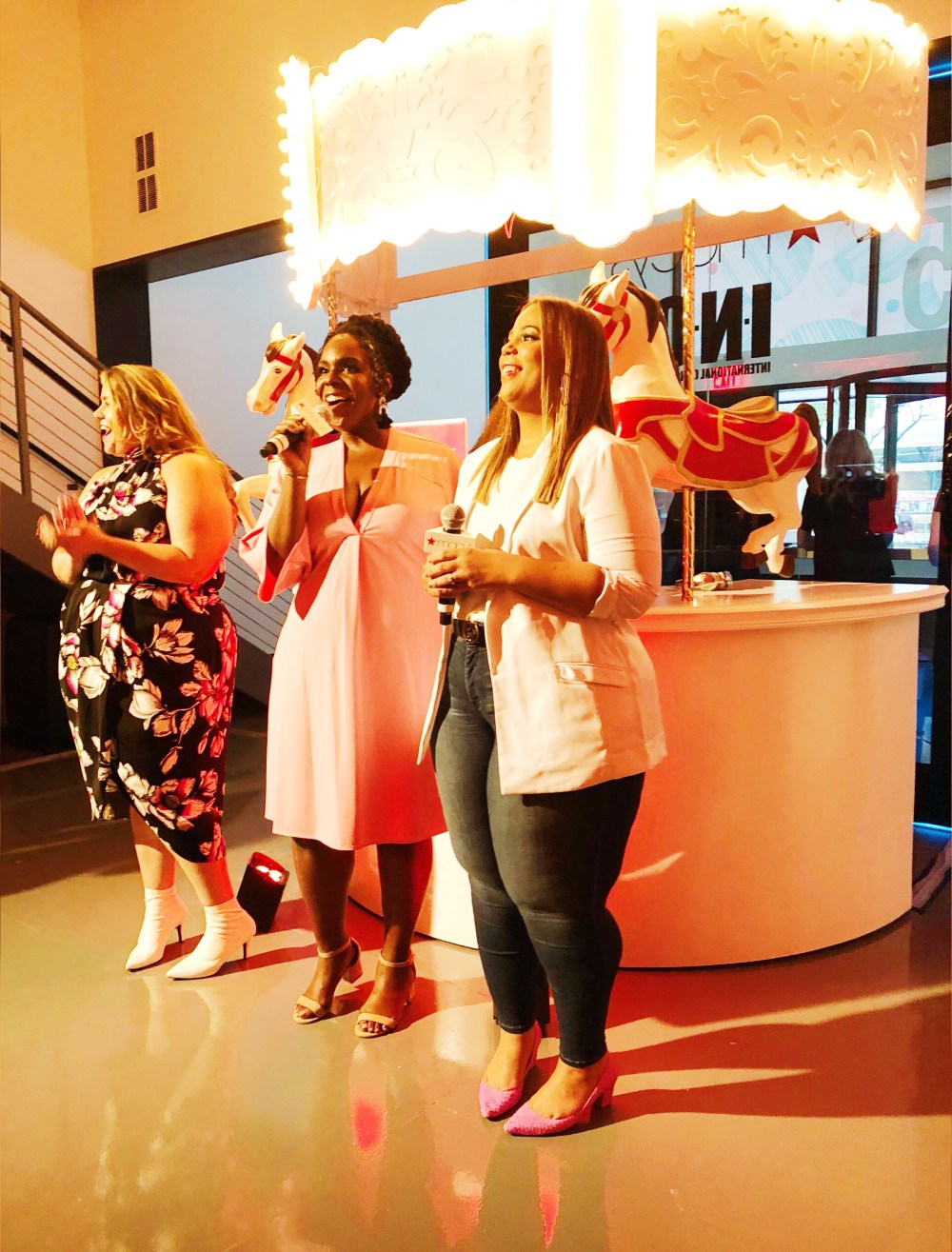 theCURVYcon, Macy's plus size, platinum party