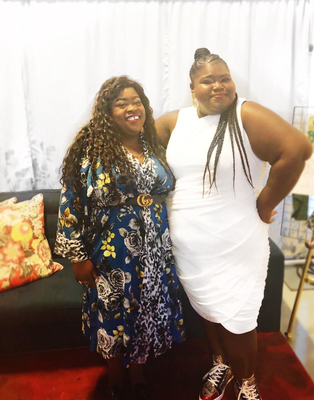 Rachel Roy's Must Have Kimono, Rachel Roy, thecurvycon, Kimono, plus size fashion, thefatgirloffashion, GABOUREY SIDIBE