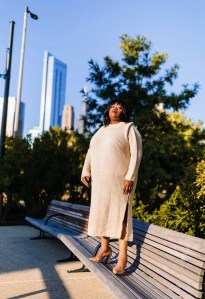 Plus Size Sweaters, Plus Size weather looks, Chicago Blogger, Plus Size Blogger, Palmer's, Pampered By Palmer's Chicago, Van Cleef Hair Studio, Cocoa Butter Biotin Collection, Coconut Oil Formula Collection