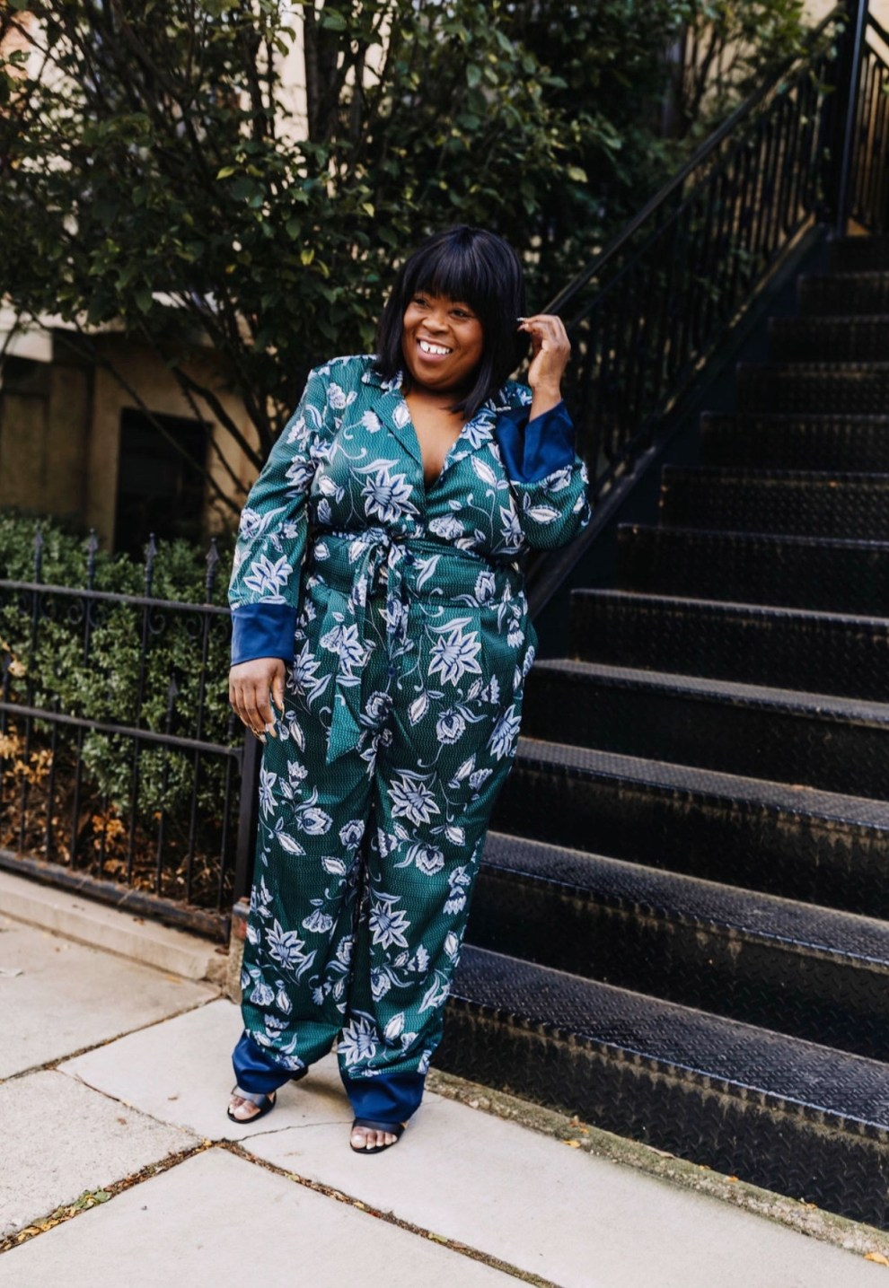 plus size jumpsuit, plus size fashion, plus size blogger, chicago blogger, Eloquii, XOQ, Walmart